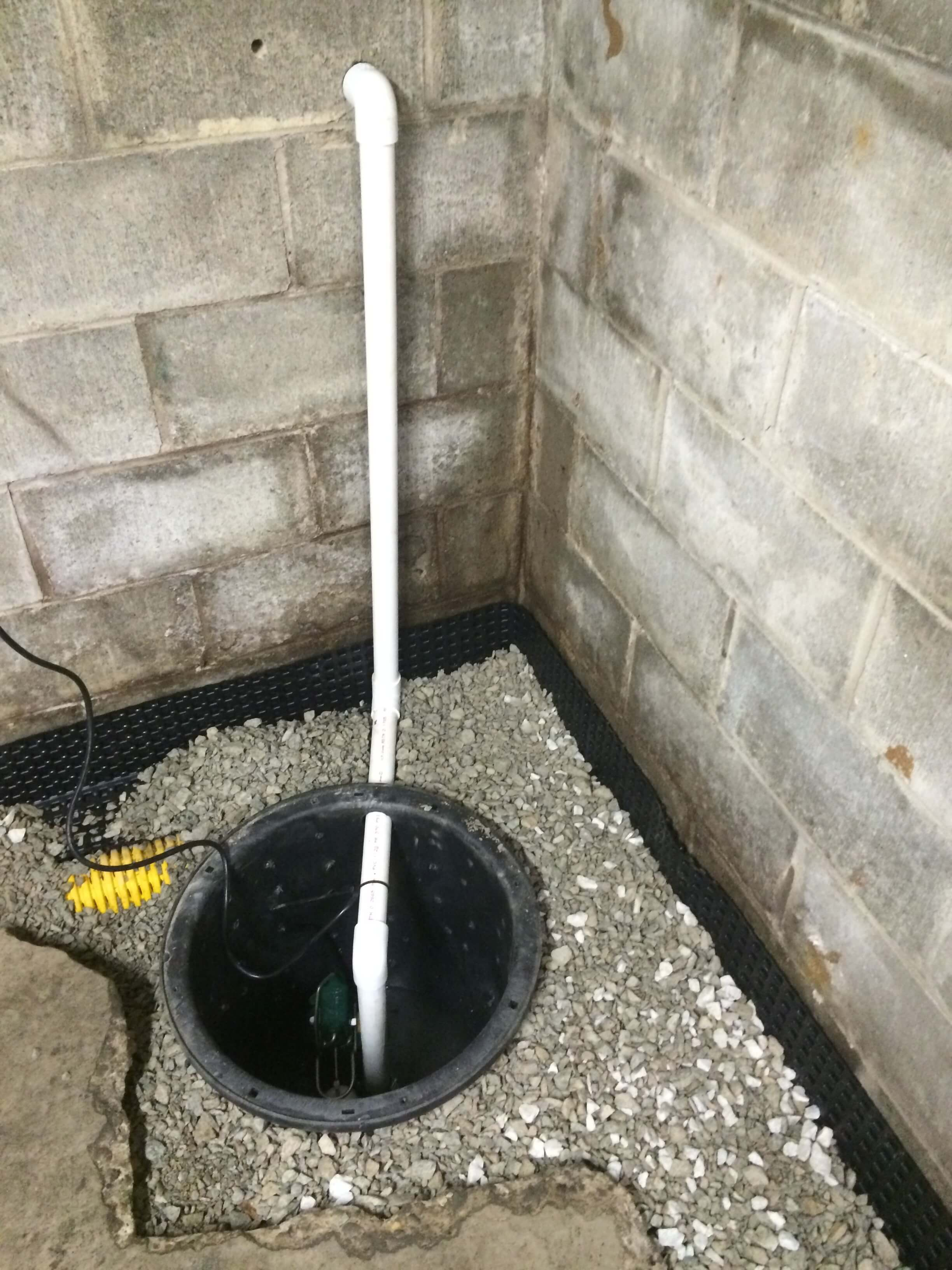 Interior waterproofing advanced basement solutions - Interior basement drainage systems ...