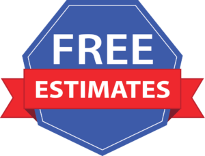 free estimates badge