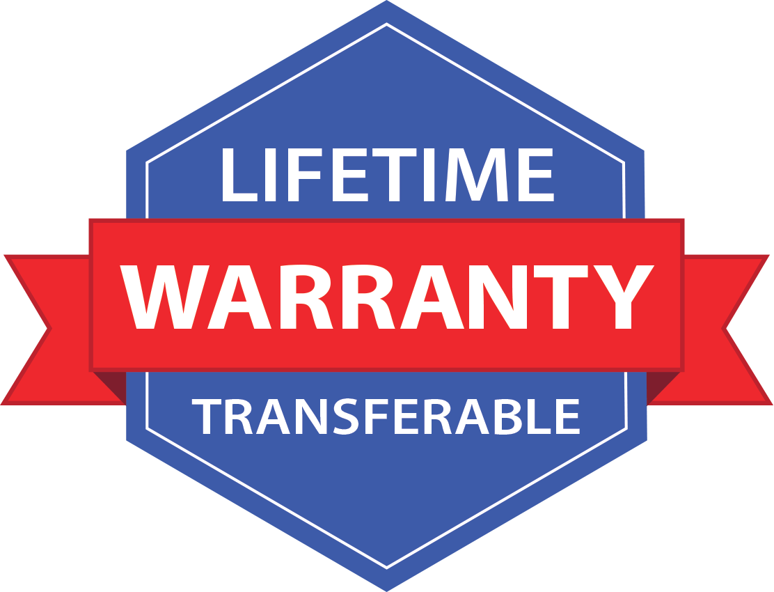 lifetime warranty transferable icon